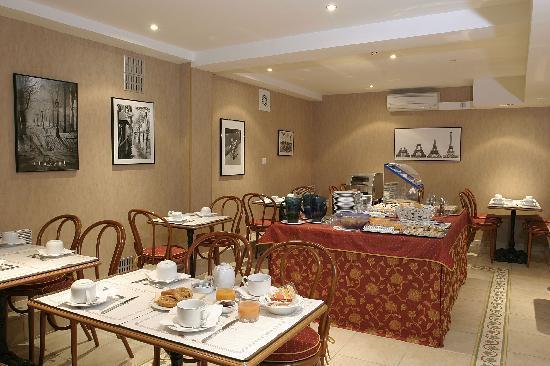 Ambassade Hotel: Salle Petit-Déjeuner
