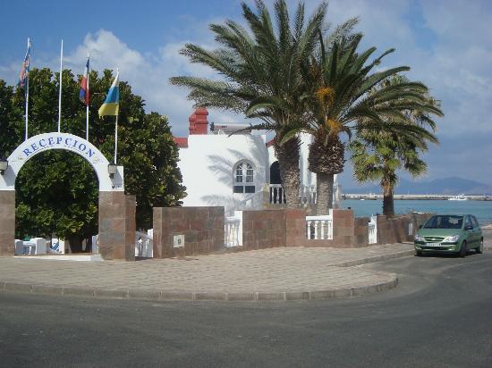 Galera Beach Resort: entrada recepción