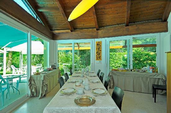 Villa Viviana: sala pranzo