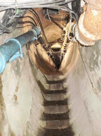 Musee des Egouts de Paris: view of the sewers