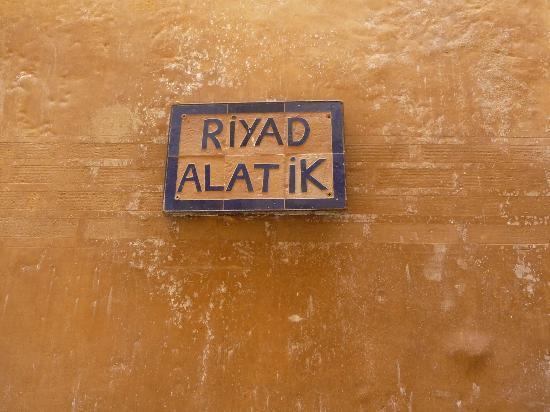 Riyad Al Atik : gevel