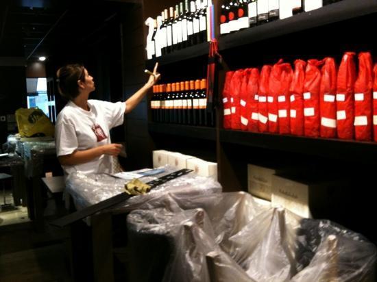 Grill De Vette Os: de wijnbar
