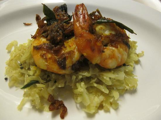 Nimmy & Paul: Kerala Prawns with Pachakari Thoran