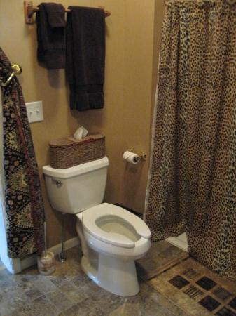 Cozy Koi Bed and Breakfast: The Toilet at the Private Entrance