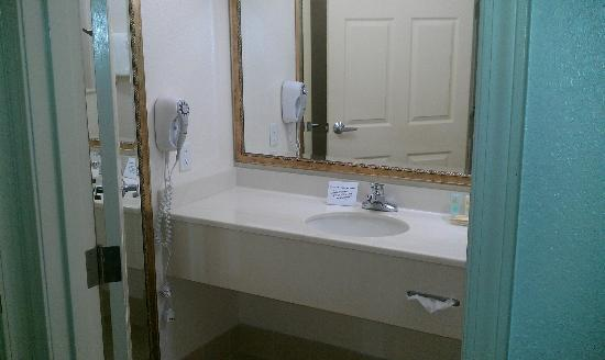 Quality Inn & Suites Biltmore East: bathroom