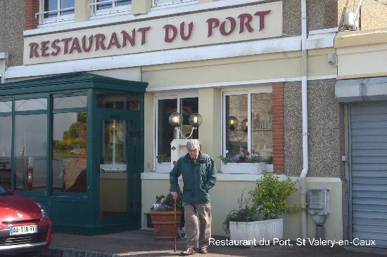 Saint-Valery-en-Caux, France : Restaurant du Port, St Valery-en-Caux