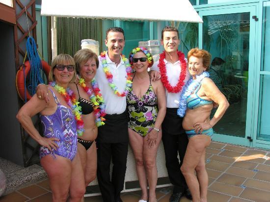 Hotel Abano Terme Cristoforo: Mirko e Michele Con 4 Clienti