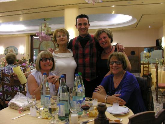 Hotel Abano Terme Cristoforo: Mirko In sala da Pranzo