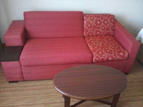 Courtyard Lansing: Weird Couch
