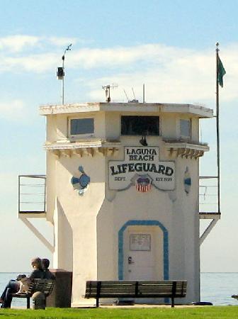 Laguna Beach: Life Guard Station