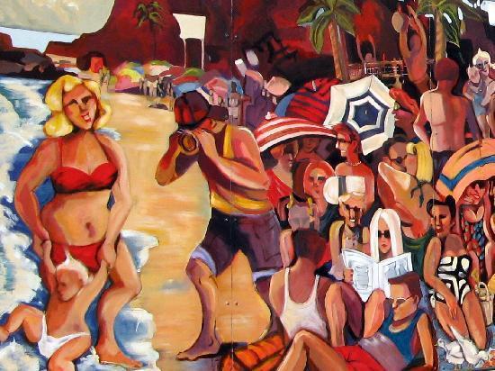 Laguna Beach: Mural Detail