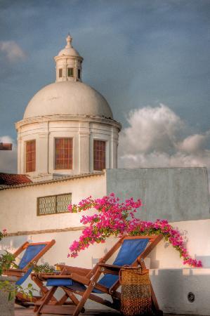 La Casa del Agua: Top Terrace