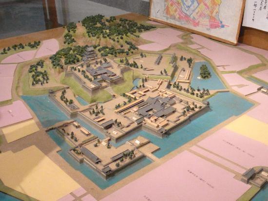 Odawara Castle History Museum: 小田原城のパノラマ/解説付きで楽しめた