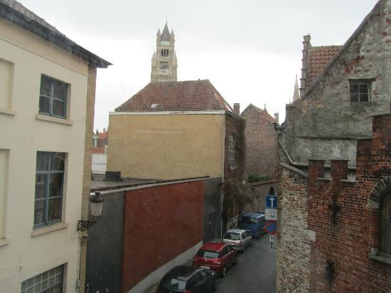 Hotel 't Zand: view from room 112