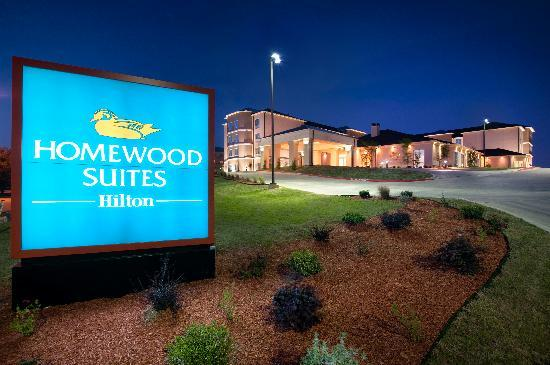 Homewood Suites Fort Worth West at Cityview: Exterior at Night