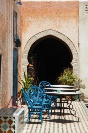 Fez Cafe at Le Jardin Des Biehn: la 2° terrasse