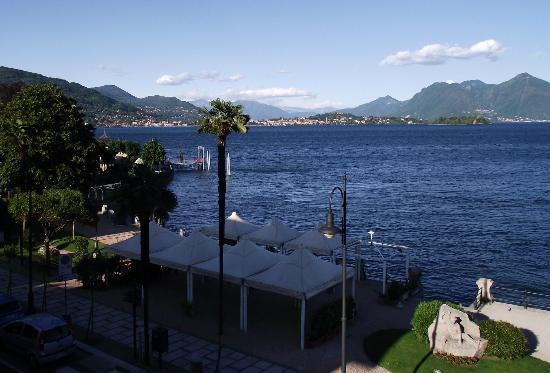 Hotel Eden : View over lake