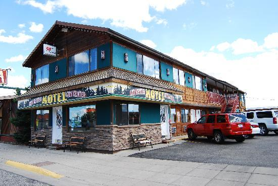 West Yellowstone's City Center Motel: City Center Motel, 214 Madison Avenue, West Yellowstone