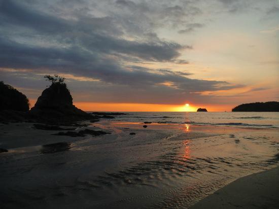 Intercultura Costa Rica Spanish Schools: playa carillo (beach a short bus ride from samara and def worth a visit)