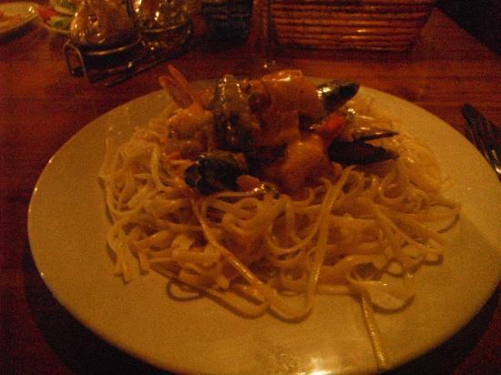 Las Brasas : Seafood Pasta
