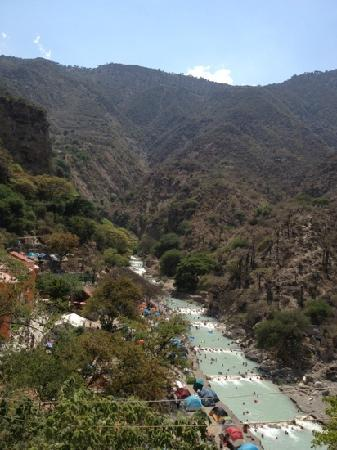 Tolantongo Caves : parte del rio