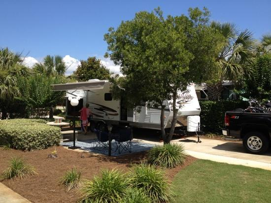 Miramar Beach, FL: campsite at destin rv