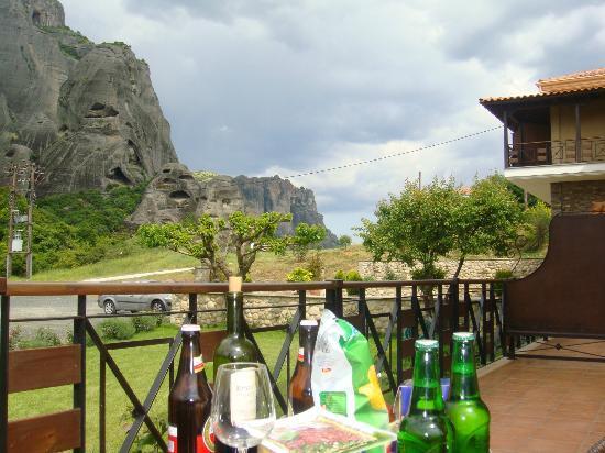 Dellas Boutique Hotel: View from terrace