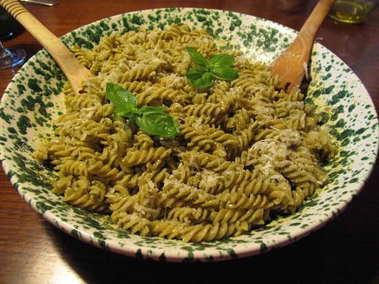 Agriturismo Filettro: pasta al pesto