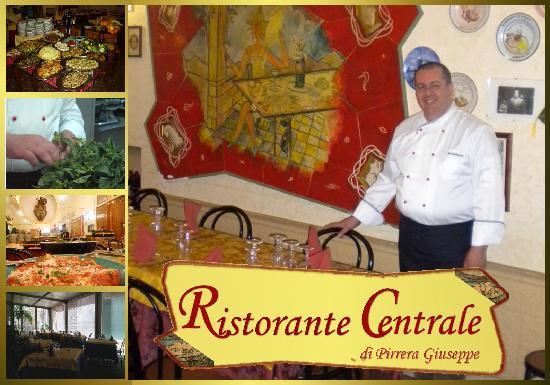 Enna, İtalya: Ristorante Centrale - titolare