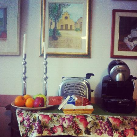 Badia Fiorentina Bed and Breakfast : Breakfast room