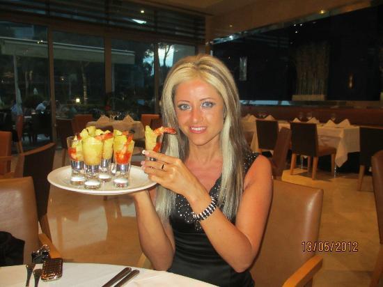 Calista Luxury Resort: Ужин в ресторане