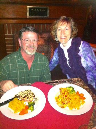 Stonehedge Gardens Wine Country Bistro : Another awesome dinner