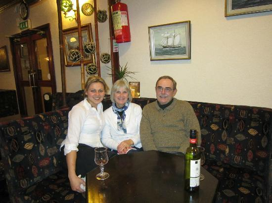 Courtown, Ireland: Esther, great server!