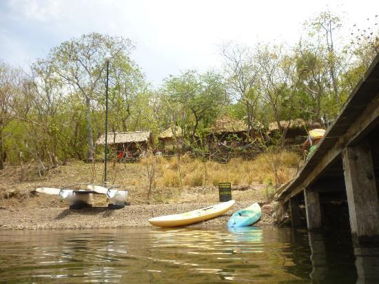 San Simian Eco Lodge: Molo