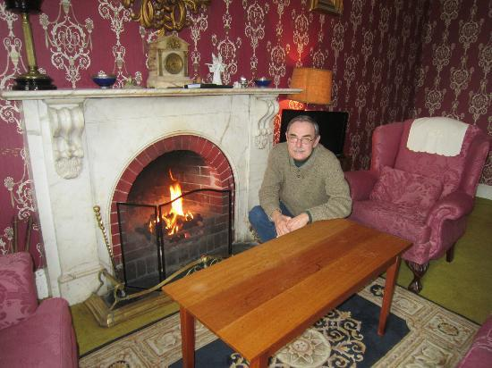 Ballyrafter Country House Hotel: den where tea was served