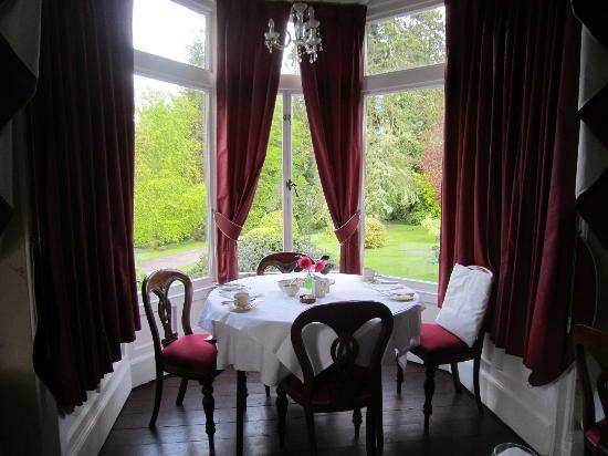 Ballyrafter Country House Hotel: view frim dining room