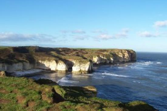 Crab Pot Cottage: View from Flamborough Head