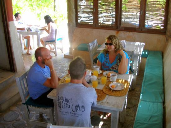 Hotel CalaLuna Tulum : Awesome breakfast!