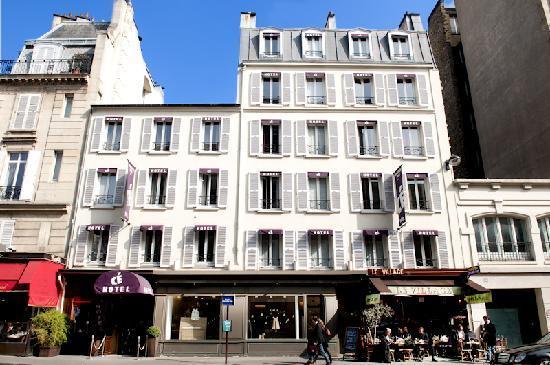 Hotel courcelles etoile paris france voir les tarifs for Hotel paris 75