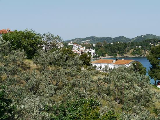Aegean Suites: View from Balcony