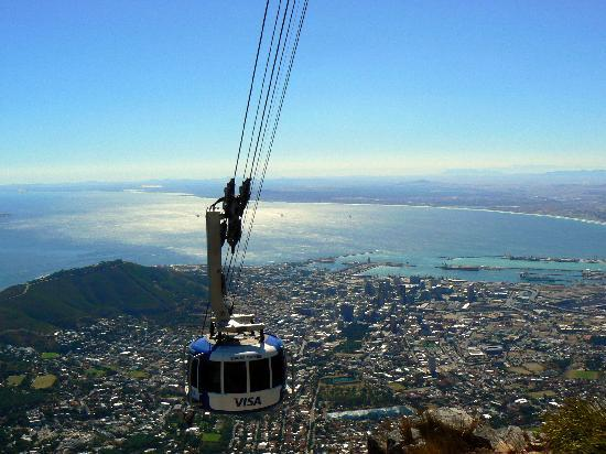Table Mountain Walks: Cableway up to Table Mountain summit