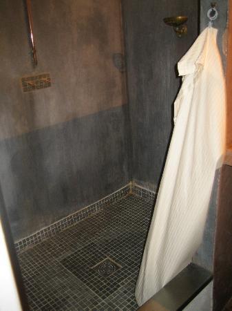 La Pousada: douche