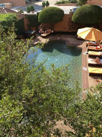 Rosewood Mansion on Turtle Creek: View from deck above pool