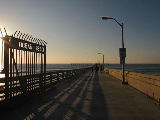 Ocean Beach Pier Cafe Sandiego Ca