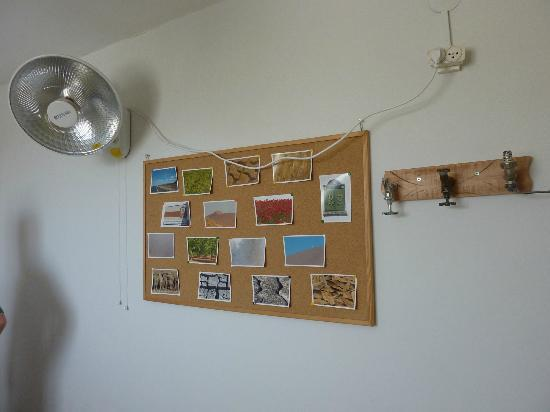 The Green Backpackers: chambre