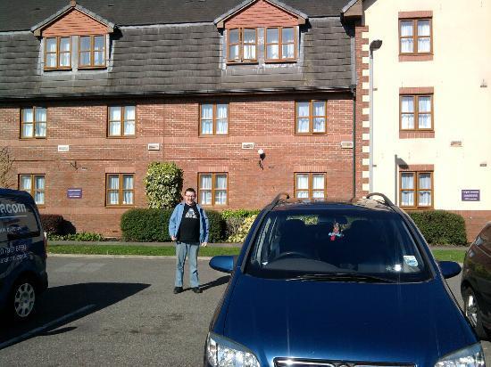 Premier Inn Peterborough (Hampton) Hotel: Front of Premier Inn, Hampton, Peterborough