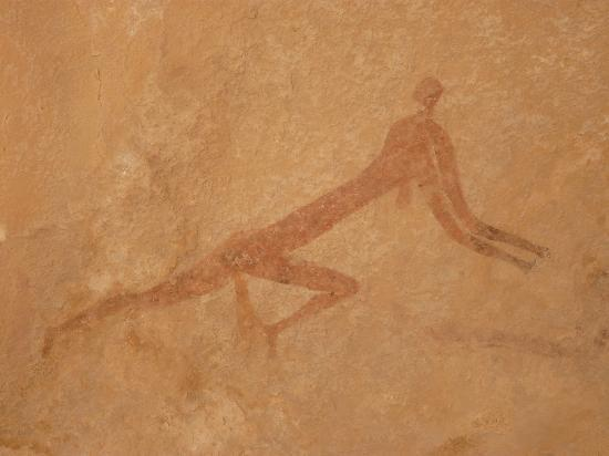Paintings in Tassili N'Ajjer National Park
