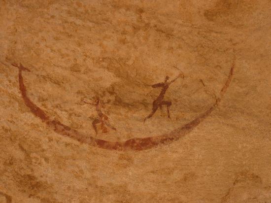 Rock art in Tassili n'Ajjer National Park