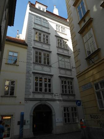 Mozarthaus Vienna : entrance side