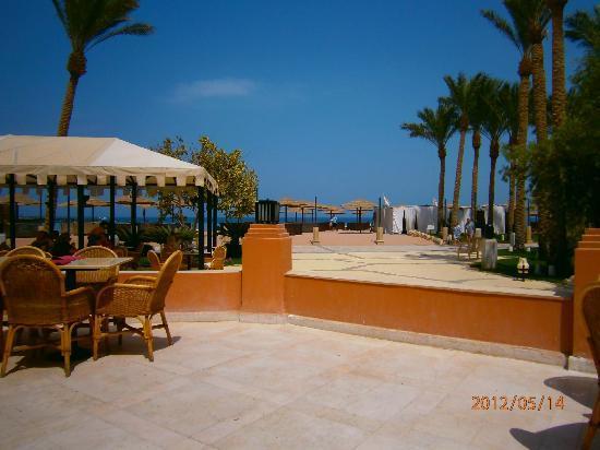 The Grand Makadi Hotel : View from Lagoon